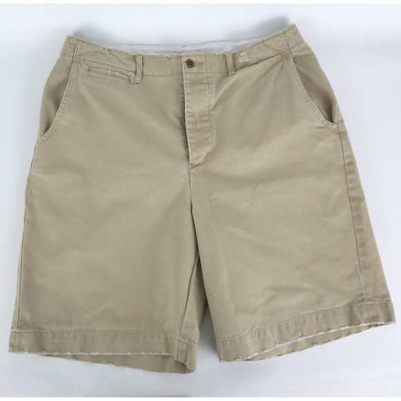 Polo by Ralph Lauren Other - Polo Ralph Lauren Sz 34 Standard Issue Shorts Flat